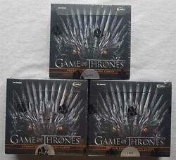 3x Game Of Thrones Season Eight 8 Trading Cards Box 2020 Limitiert