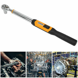 1/2in Torsion Wrench,digital Display Spanner Keys Hand Tools 10 To 200 Nm