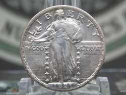1921 P Standing Liberty Quarter 25c Slq 1 East Coast Coin And Collectables Inc