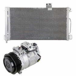 For Mercedes C230 W203 2004 2005 Oem Ac Compressor W/ A/c Condenser And Drier Tcp