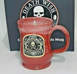 2021 Death Wish Coffee Mother Functioner Mug 2003 /2500 Sold Out