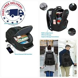Travel Backpacks for Men Extra Large TSA Friendly Business Anti Theft Durable L $41.65