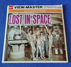 Gaf Vintage B482 Lost In Space Tv Show 60s View-master Reels Packet Sci-fi