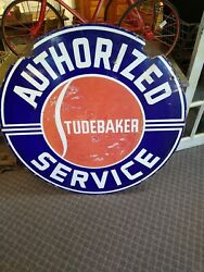 42 Inch Dsp Porcelain Authorized Service Sign