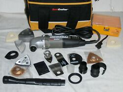 Rockwell Sonicrafter 72 Piece High Frequency Variable Oscillating Tool Rk5102k