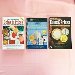 North American Coins And Prices 2002 2012 Kraus And Ngc Gradfing Guide 2004 3 Lot