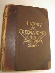 History Of Free Masonry And Concordant Orders 1907