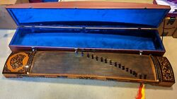 Classic Japanese Koto - String Musical Instrument With Hard Case