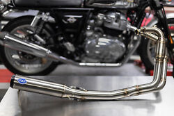 Royal Enfield Interceptor And Continental Gt650 Twin Sands Qualifier 2 -1 Exhaust
