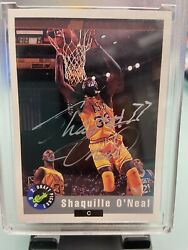 1992 Atlanta National Convention Autograph Black Back Shaquille / Shaq Oand039neal Rc