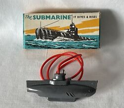 Vintage Plastic Tresco Diving Toy Submarine - New Old Stock. Never Used. Sub5