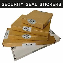 Cellophane Bag / Comex Mailing Zip Seal Security Seal Stickers