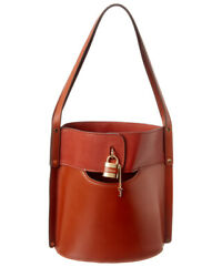 Aby Medium Leather Bucket Bag Womenand039s