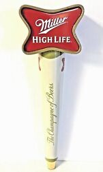 Miller High Life Tap Handle Soft Cross - New In Box And F/s - 11.25 Tall - Rare