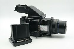Mamiya Rz67 Pro Ii With 90mm F3.5, Prism And Waist Finder Included