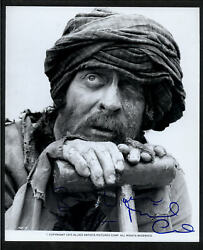 Michael Caine - Signed Autograph Movie Still - The Man Who Would Be King