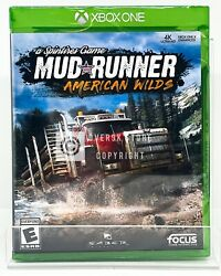 Spintires Mudrunner - American Wilds - Xbox One - Brand New | Factory Sealed