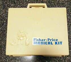 Vintage Fisher Price Medical Kit With All Tools 1997 Made In Usa