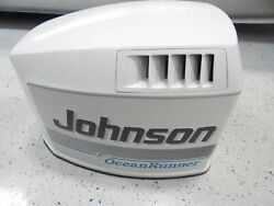 Evinrude Johnson Outboard 1993-1998 150 175 Hp White Engine Hood Cover 0436952