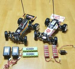 Tamiya Tamtech Gear Mighty Frog And Hornet Set Used With Spare Battery