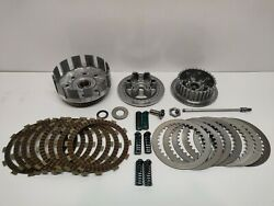 Complete Clutch Kit Assy. 10-13 Yzf450 Yz450 Original Oem Basket And Plates