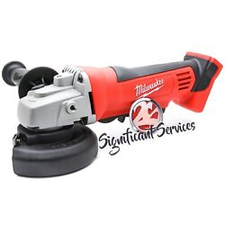 New In Box Milwaukee M18 2680-20 Cordless Cut Off Grinder 4 1/2 Paddle 18 Volt