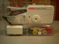 Singer Handy Stitch Hand Held Battery Operated Sewing Machine - New Open Box