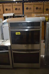 Ge Jt5500sfss 30 Stainless Double Electric Wall Oven Nob 35311 Hrt