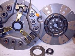 Fits Allis D17 Series Iv 170 175 Tractor Clutch Kit With Heavy Duty 6 Pad
