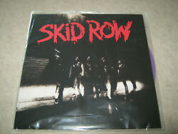 Skid Row-1989 S/t Lp Sealed 180 Gram Purple Vinyl Friday Music Sold Out