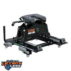 Curt 16669 A20 5th Wheel Hitch W/roller/puck System Adapter For 2016-17 Gm 1500