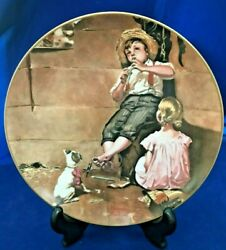 The Music Master 4th Issue Norman Rockwell Early Works Numbered 8125 Limited Ed