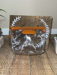 Jon Hart Coin Purse Clear Airport Chico Bag With Monogram Cosmetic
