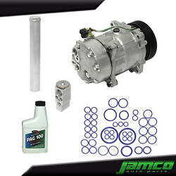 New A/c Compressor Kit Ac For 2001 2002 And 2003 Volkswagen Vw Eurovan 2.5l 2.8l
