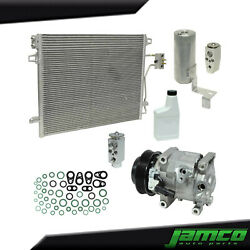 New A/c Compressor Condenser Kit For Town And Country 3.6l See Fitment Notes