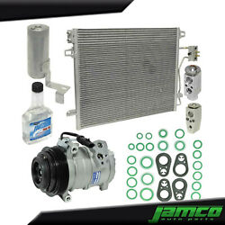New A/c Compressor Condenser Kit For Town And Country 4.0l Jp4815akt See Fitment