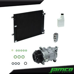 New A/c Compressor Condenser Kit For Jeep Cherokee 2.4l Jp5751akt See Fitment