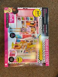 New In Box Barbie GBK10 Dream Closet with Accessories and Doll
