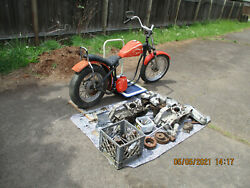 Harley Davidson 1969 Sportster Basket Case With Extra Parts