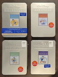 22 Dvd Lot Of Disney Treasures In Their Vaulted Tins