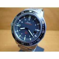 Sinn 603 Ezm3 Automatic Black Silver Stainless Round Analog 40mm Menand039s Authentic