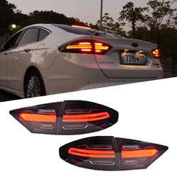 For Ford-fusion 2013-2016 Led Taillight Brake Trunk Light Dynamic Turn Signal