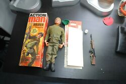 Action Man Palitoy Gi Joe 1973  Gripping Hands Soldier 2 Figure Boxed