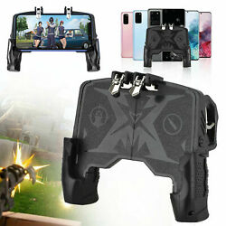 Cell Mobile Phone Gamepad Game Controller Black For Pubg Cod Android And Ios New