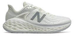 New Balance Womenand039s Fresh Foam More V2 Shoes White With Grey