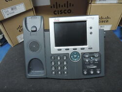 Lots Of 10 Cisco Cp-7945g Ip Phone . 2 Yearand039s Warranty Real Time Listing.