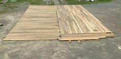 Genuine Antique Pine Plank 7/8 Tongue And Groove Flooring 750 Sq Ft 596-21b