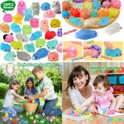 Orwine Squishies 28pcs Mochi Squishys Toys 2nd Generation Party Favors For Kids
