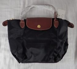 Small Zippered Black Bag New $14.99