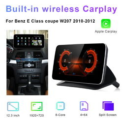 12.3 Car Gps Nav Stereo Wifi Android For Benz E Class Coupe W207 2010 2011 2012
